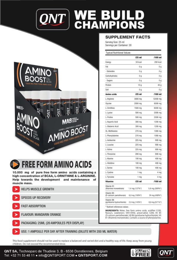 Amino Boost Shot (1x25ml)