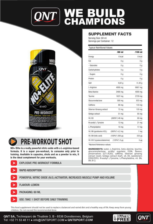 NO+Elite shot (1x80ml)
